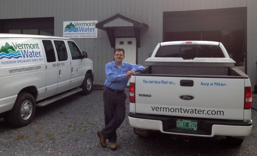 Vermont Water Inc. President John Beauchamp