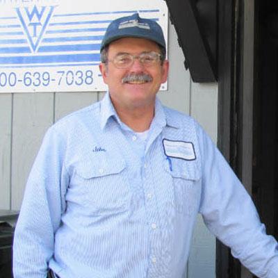 John Beauchamp, a Certified Water Professional